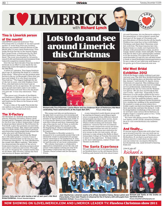 Limerick Chronicle Column - December 13, 2011