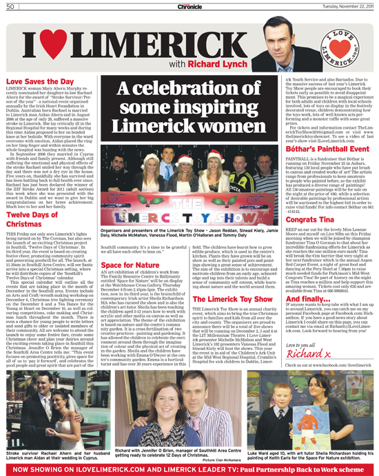 Limerick Chronicle Column - November 22, 2011