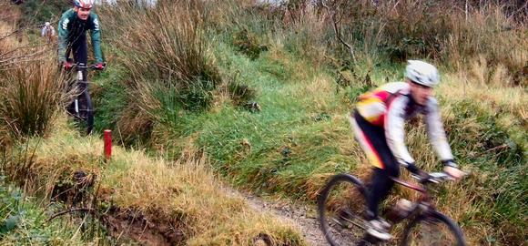 Mountain Biking At BallyHoura