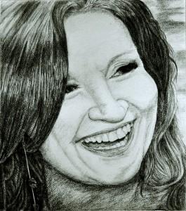 Celia Holman Lee by Limerick Portrait Artist Catherine Penny