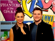 Madeline Mulqueen and Jack Reynor visit West End Youth Centre