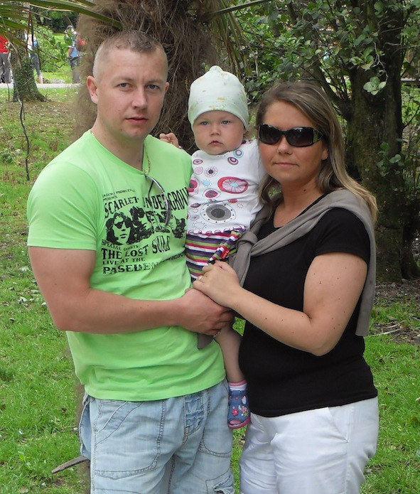 In Limerick, Tomek, 31, who is a father to 4 year-old Maja and husband to Marta, was diagnosed with Leukemia