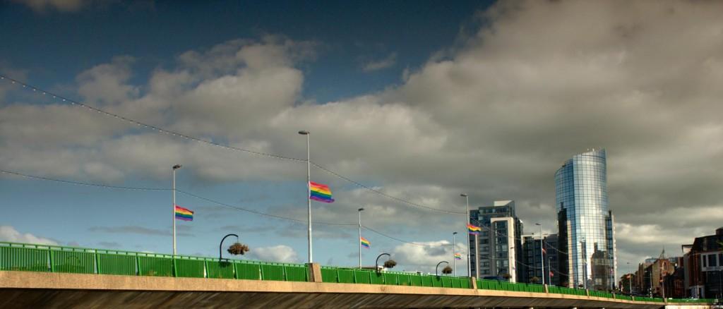 limerick gay pride flags