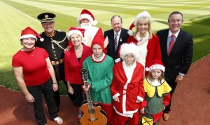 As Patron of Limerick charity Cliona's Foundation, RTE broadcaster Miriam O'Callaghan will lead the record breaking event. 'Stars, Choirs and Carols'