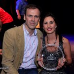 Richard pictured with LImericks Got Talent 2013 Winner Kelly Brosnan. Picture: Carlos Dasco