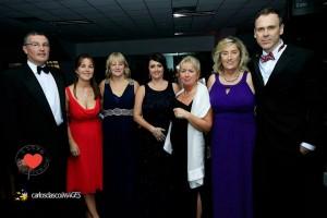 Richard with Organisers - John Dunne, Olive Mulqueen, Catherine Cox, Deirdre Hogan, Colette Devlin & Annette McCaul. Picture: Carlos Dasco