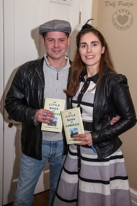 Author Sharon Slater and illustrator Gary O Donnell