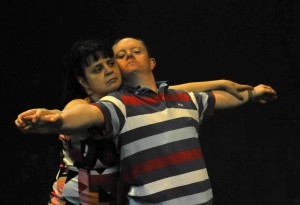 Diane Moore and John Casey of Patterns Dance Collective