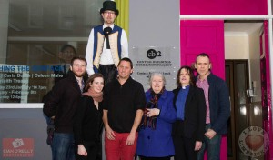 Pictured at the launch of Central Buildings, Richard pictured with Pius McGrath and Tara Doolan, Honest Arts Production Company, Boris Hunka, Co-ordinator Music Generation Limerick, Mayor Kathleen Leddin and Vicki Lynch,  Central Buildings Project Manager. Picture: Cian O Reilly.