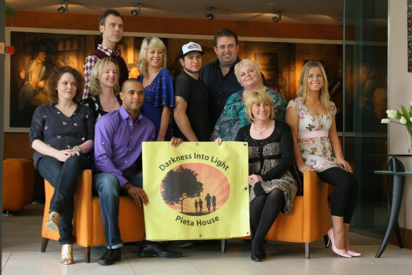 Pieta House Darkness Into Light Launch in 2010 at the Limerick Strand Hotel with Maeve Mc Grath, Frances Healy, Kamal Ibrahim, Julie Anne Dineen, Nora Conway, Michelle Mc Mahon (seated) and Richard Lynch, Hollie O Donoghue, Shane Serrano and Karl Spain (Standing). Picture: Emma Mac