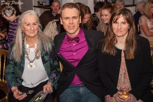 Richard Pictured with Lady Geraldine Dunraven and her daughter Lady Anne at the St Nicholas Adare Fashion Show Fundraiser