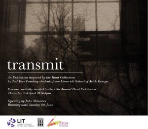 EXHIBITION AT HUNT MUSEUM - transmit