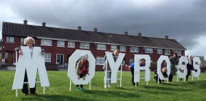 MOYROSS sign manufactured by Eoin Keegan, Kieran Meagher, Gerard Roche and Martin Kiely.