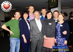 Richard pictured with the organisers of the Limerick Citywide Children & Youth Forum Conference which took place in Thomond Park last Monday, April 7. L-R: Damian Landy (Limerick Youth Service), Cora Foley (Limerick Clare Education & Training Board), Dr. Fergus Heffernan (Speaker; Psychologist,Psychotherapist), Cathal Dillon (Southill Area Centre), Margaret Mastriani (Limerick City Children's Service Committee), Mike Walsh (Extern) and Dairine Cross (Community Development - TUSLA).