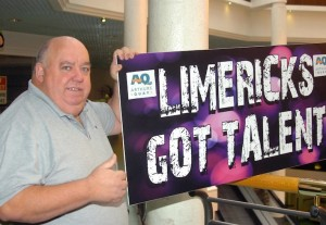 Organiser Mike O'Connor pictured at the launch of Limerick's Got Talent which is been held in the Limetree Theatre,Mary Immaculate College, starting on Tuesday 20th of August.