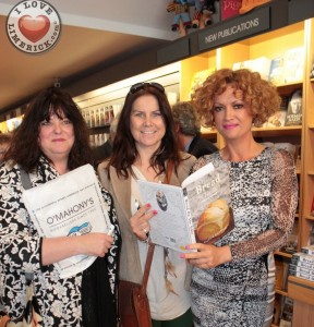 At the launch of her new book 'Bread on the Table' at O'Mahonys Bookstore, Valerie O Connor pictured with well known Limerick ladies Val Dolan and Siobhan O Brien. Picture: Chris Luszczki