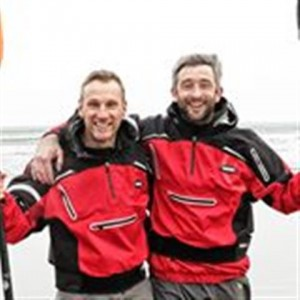 Andrew Bradley and Kevin O' Donovan will paddle a total of 364km of the River Shannon