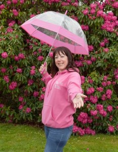 Melanie Hunt will again be taking part in the annual Killaloe Pink Ribbon Walk.  Photo: Kieran Clancy