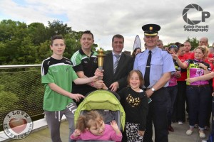 Special Olympics Torch Meets Cycle 4 Sick Children