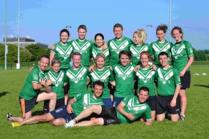 Limerick Mixed Squad - All Ireland Regional Tag Rugby Championships