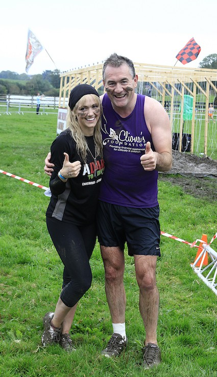 Brendan Ring and Leanne Moore after successfully finishing the Adare to Survive course 2013. Picture: Carlos Dasco