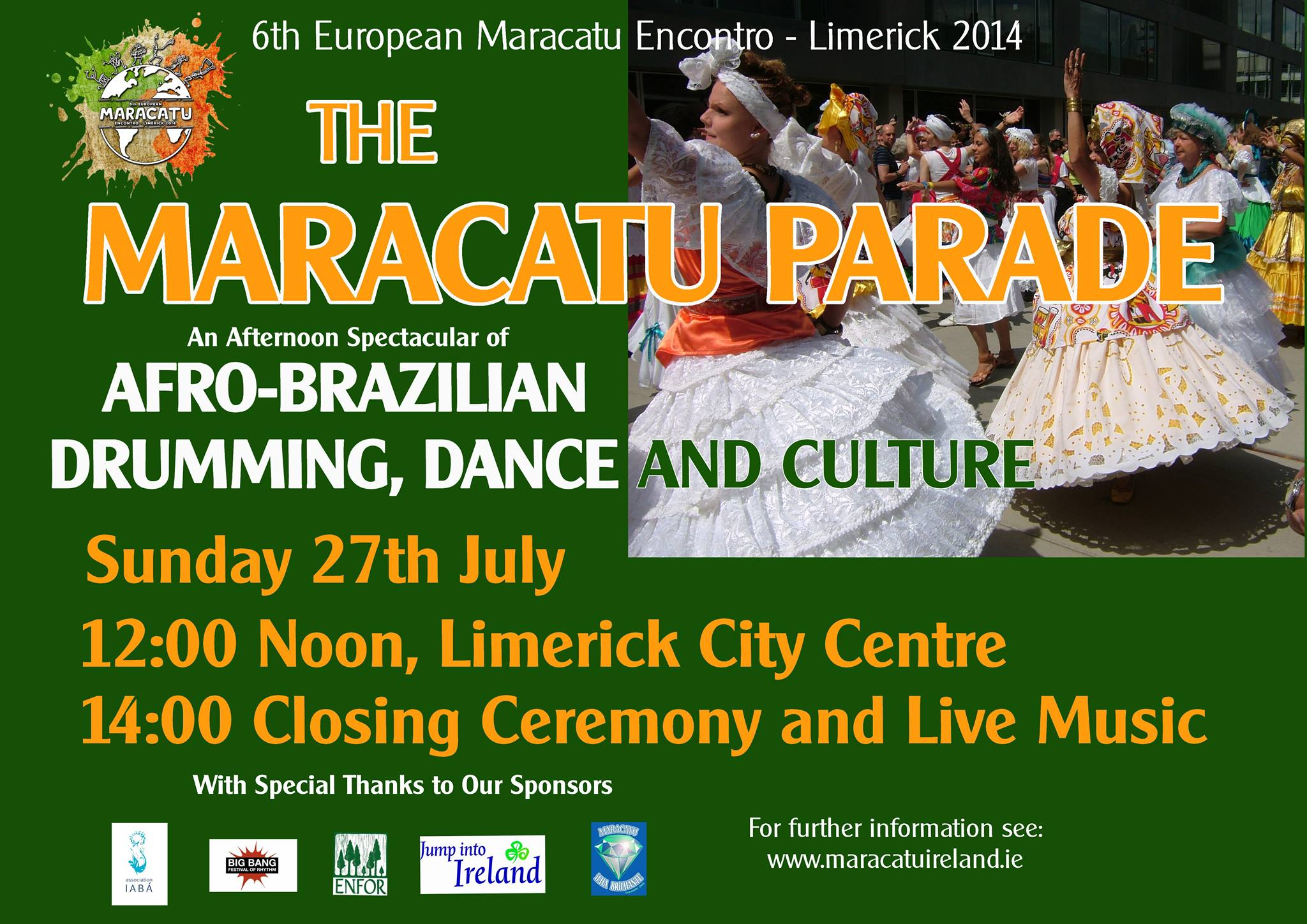 6th European Encontro of Maracatu