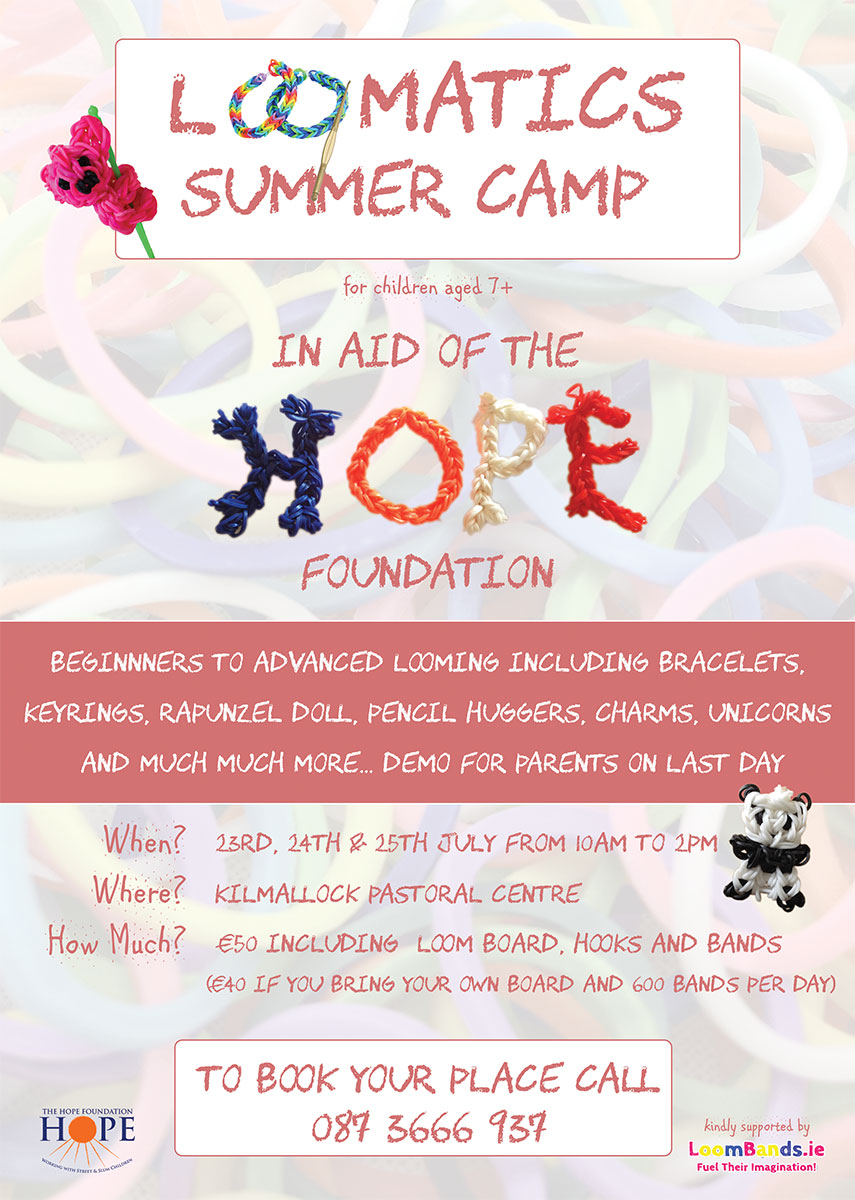 Join Loomatics for The Hope Foundation