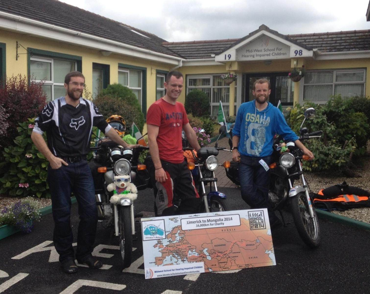 Limerick to Mongolia in aid of Mid-West School for the Hearing Impaired