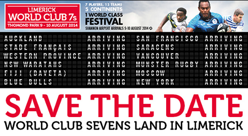 This Weekend: Limerick World Club 7s