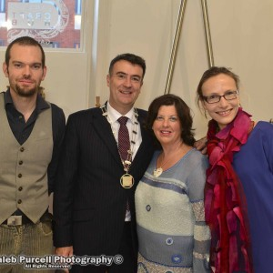 Limerick Craft Hub Launch - Fergus Grant Stevenson - Chairman, Joe Crowely, Kate Ramsey, Claire Jordon. Picture: Caleb Purcell