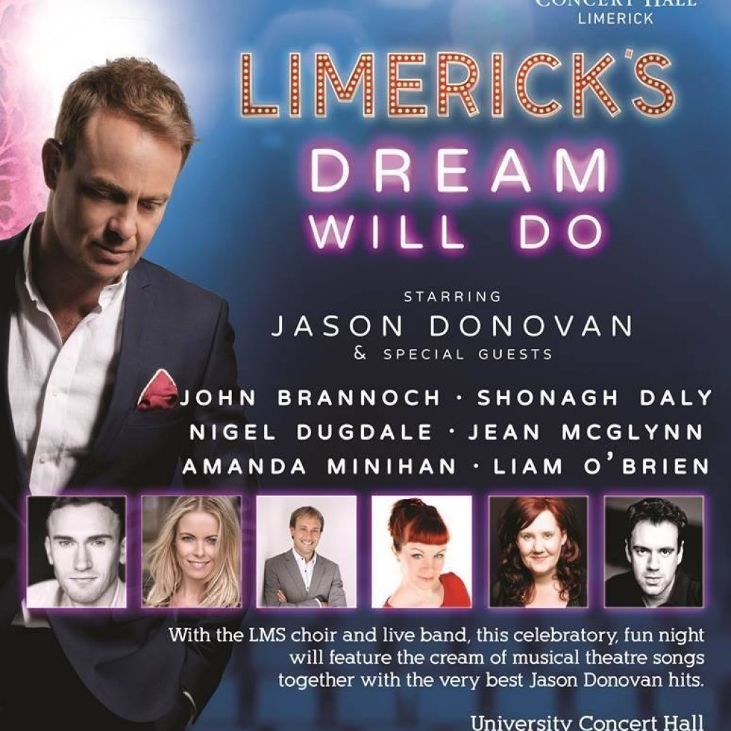 jason donovan any dream will do limerick