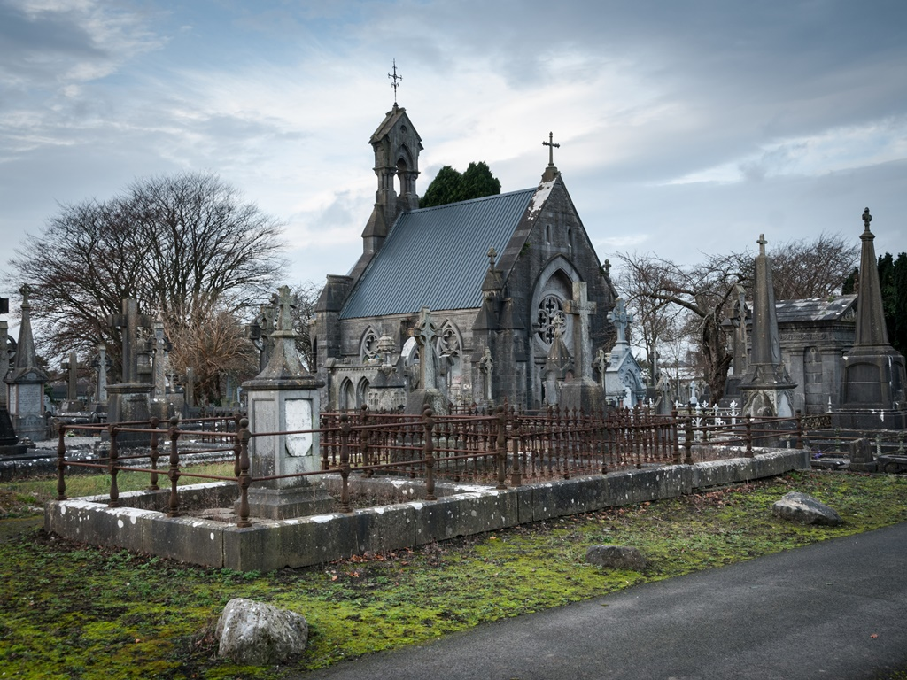Conservation works begin at Mount St Lawrence Cemetery