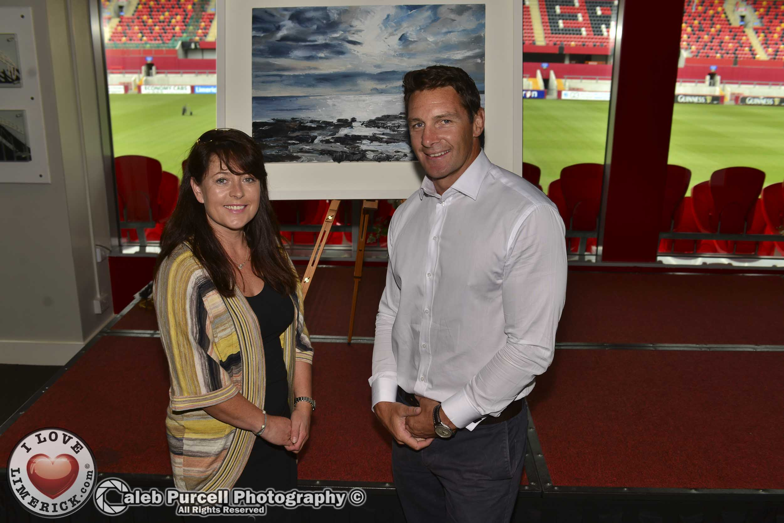 Ann Daly donates painting to Carer's Association
