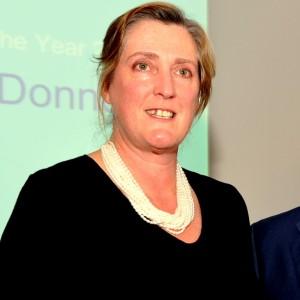 Helen O'Donnell receives Hero Award