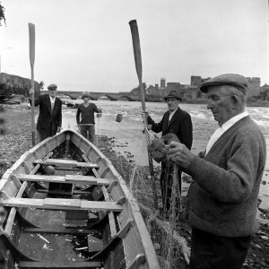From Limerick with Love - Fishermen, Shannon River, Clancy Strand 1970