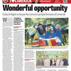 Limerick Chronicle Column 16 September 2014