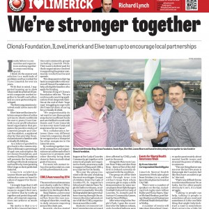 Limerick Chronicle Column 30 September 2014
