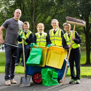 PAUL O'CONNELL LAUNCHES MASSIVE CLEAN-UP CAMPAIGN FOR LIMERICK