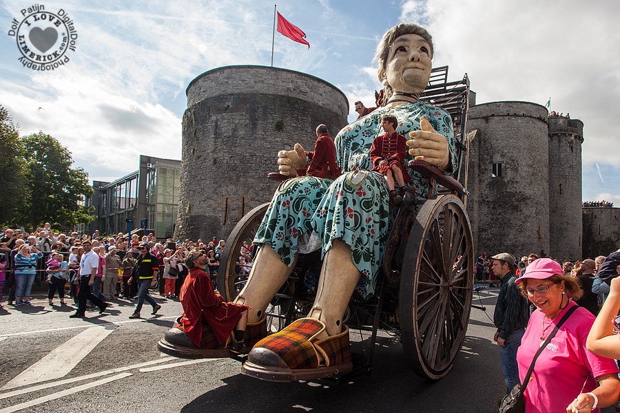 royal de luxe limerick giant day 2 dolf patin