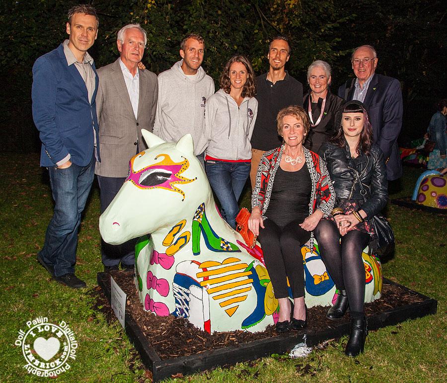 Limerick Corridor Art programme urban horse project 2014