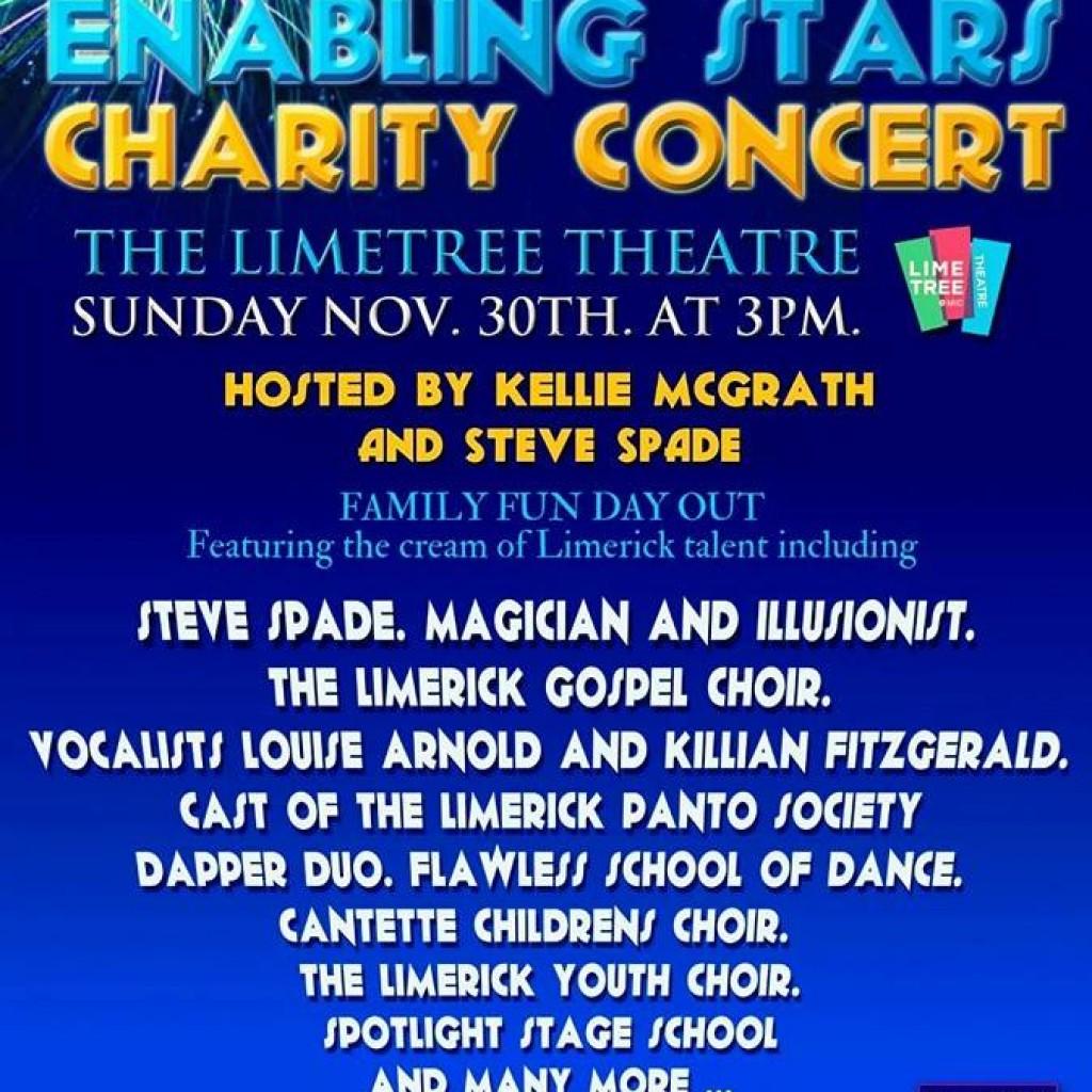 enable ireland enabling stars charity concert limerick