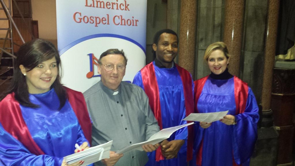 Limerick Gospel Choir to Perform Live at RTÉ Mass on 2nd Nov 2014