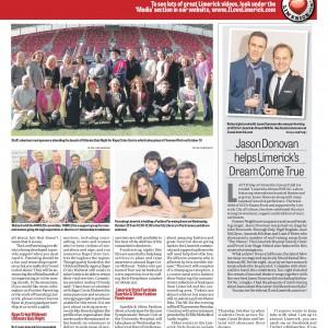 Limerick Chronicle Column 14 October 2014