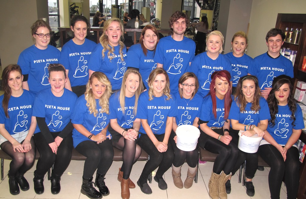 Blowdrys at Bellissimo for €5 in aid of Pieta house