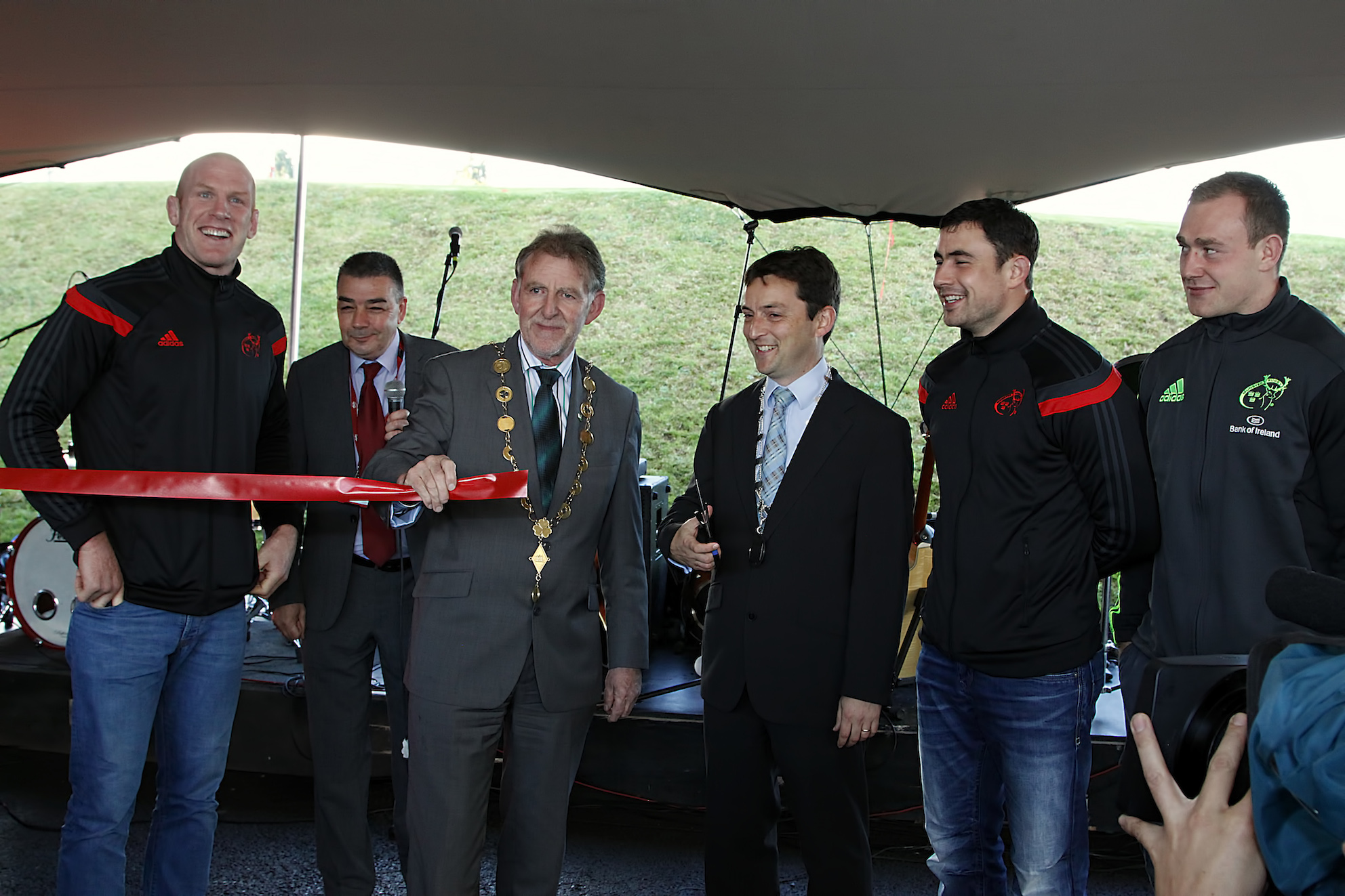 Thomond Park Opens new Fan Zone