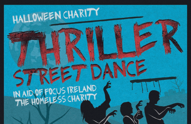 Halloween Charity Thriller Street Dance
