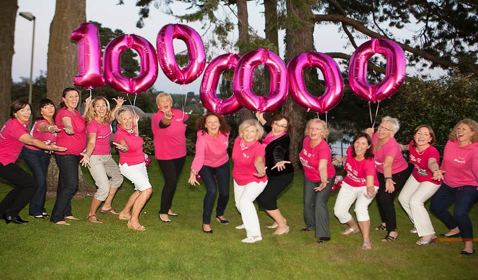 Pink Ribbon Walk Movement Raises an Amazing One Million for Irish Cancer Society