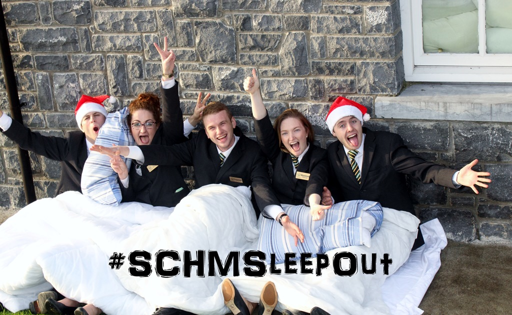 Shannon College of Hotel Management Sleep Out Challenge