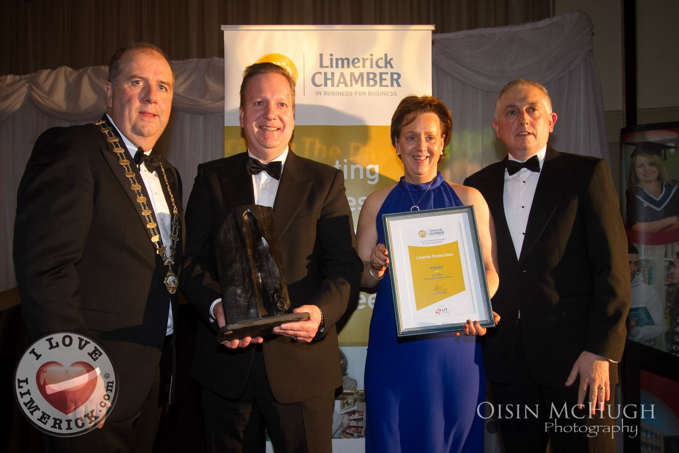 TOP LIMERICK CHAMBER AWARD 2014 GOES TO GRASSLAND AGRO
