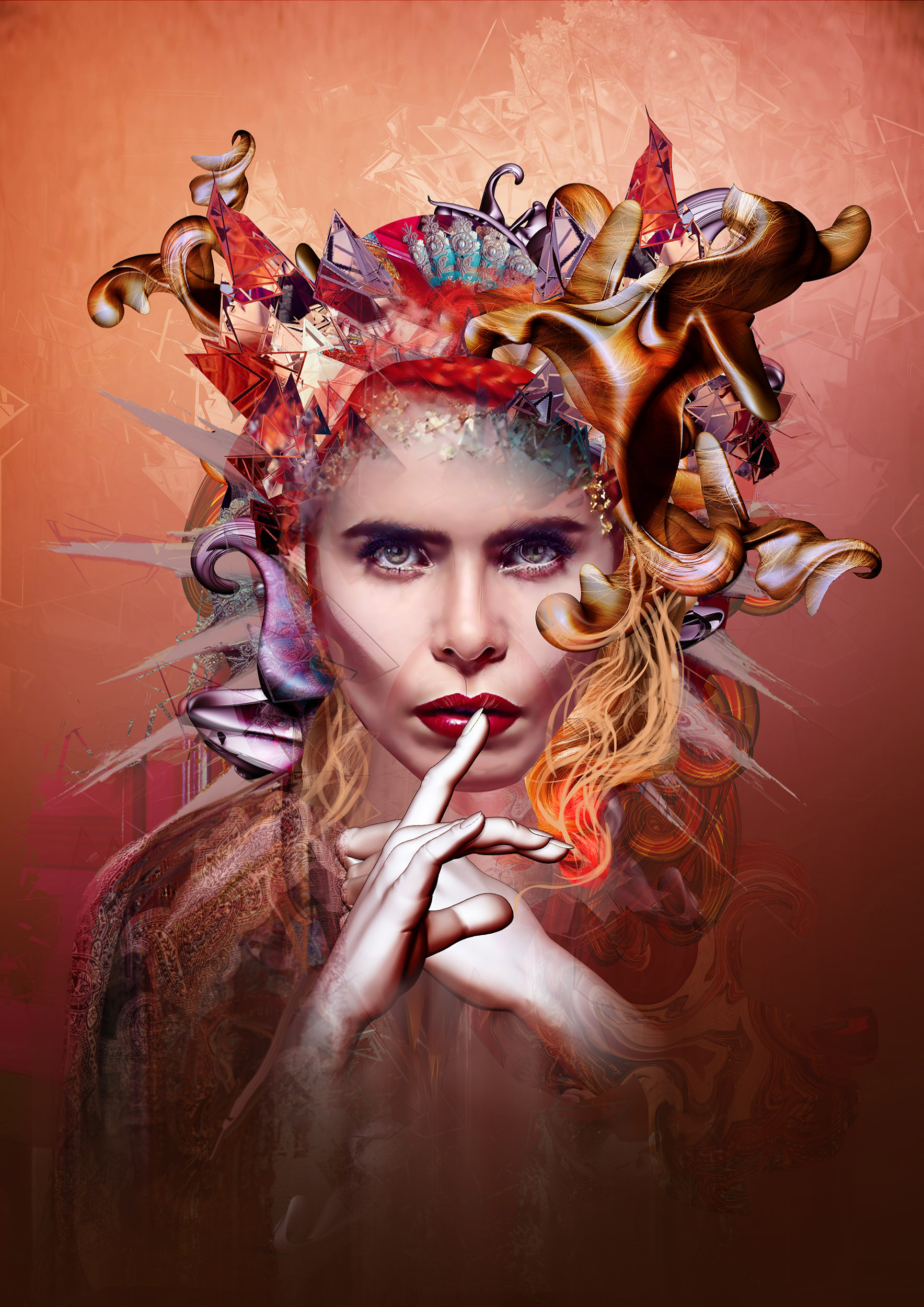 Talented Limerick photographer and digital artist Ken Coleman has seen his design selected in a competition to create artwork for musician Paloma Faith